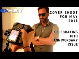 10th Anniversary Cover Shoot for May 2015 with Saif Ali Khan