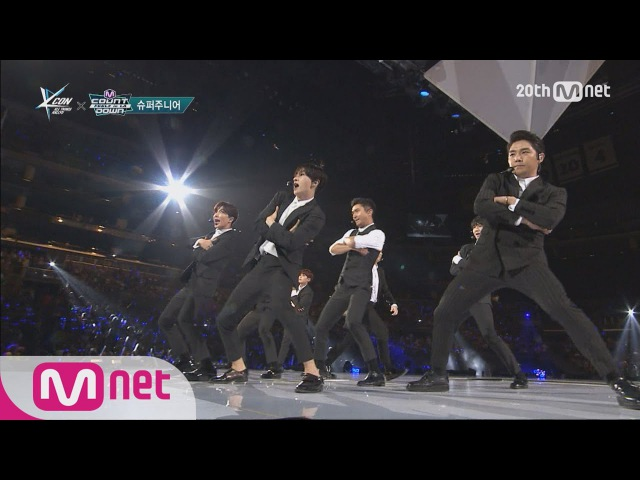 Super Junior(슈퍼주니어) - 'SORRY, SORRY' M COUNTDOWN - FEELZ in LA 150813 EP.437