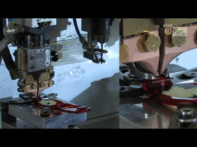 Изготовление очков на фабрике TREVI COLISEUM