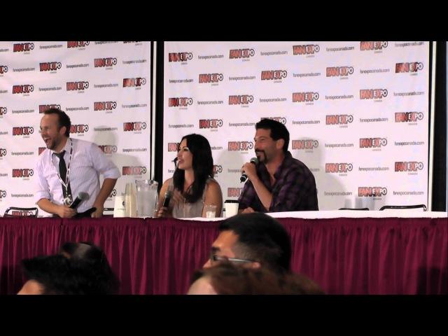Fan Expo 2012: Walking Dead Panel with Jon Bernthal Norman Reedus