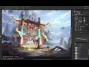 China Digital Painting Oriental style Artist JIE L Part 2 2