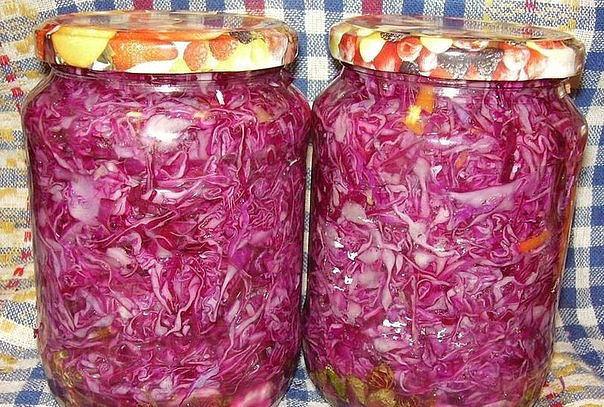 салат со свежей капустой на зиму