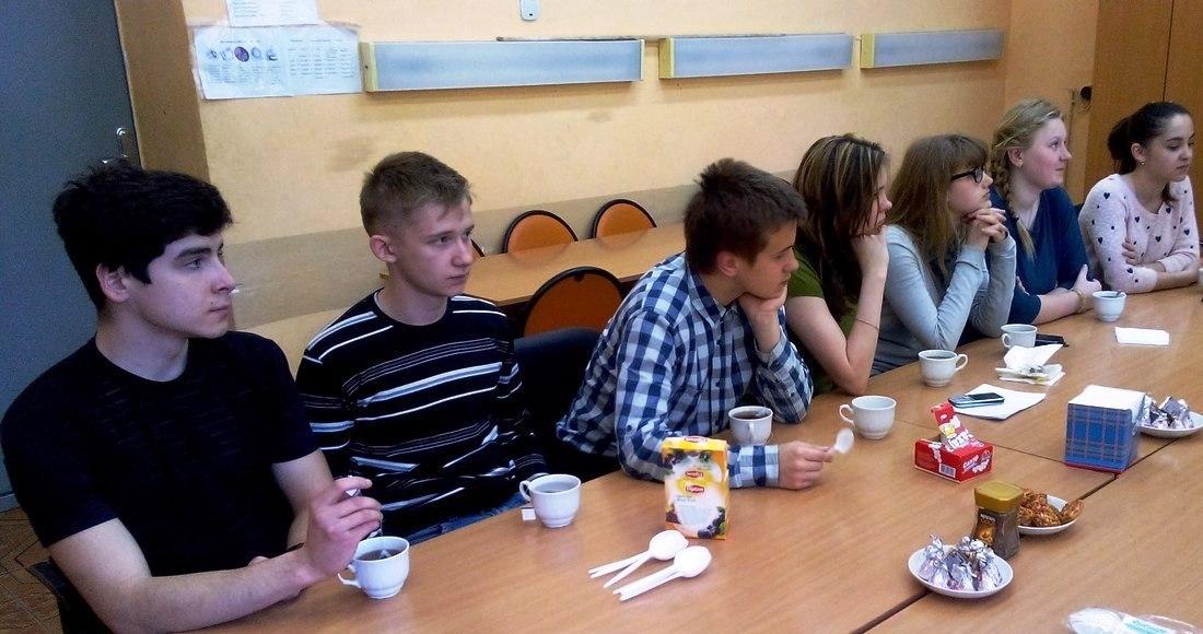 Молодежный парламент побывал в гостях у 23 школы г.Калуги