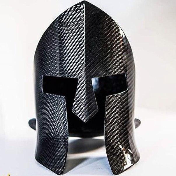 Спартанский шлем из карбона.