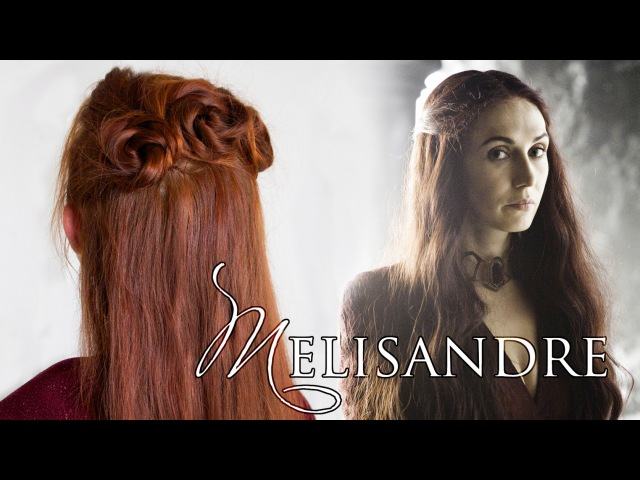 Game of Thrones Hair Tutorial for Melisandre, the Red Woman