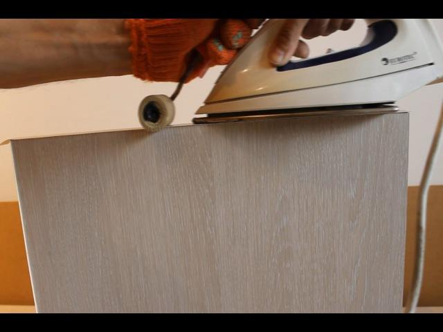 Как клеить мебельную кромку на ДСП,в деталях.(Шкаф купе своими руками.Часть2)