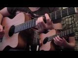 Танец злобного гения - Король и Шут (Кавер / Cover Guitar + Ukulele)