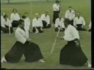 Kumi-Jo demonstration, Chiba Sensei, 1994