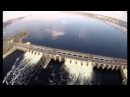 Сброс воды на Жигулёвской ГЭС Togliatti Russia