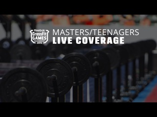 The CrossFit Games - Teens & Masters Long Chipper: Part 1