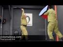 Постановка удара саблей Нунчаки как сабли Пластунский рукопашный бой система боя Леонид Полежаев