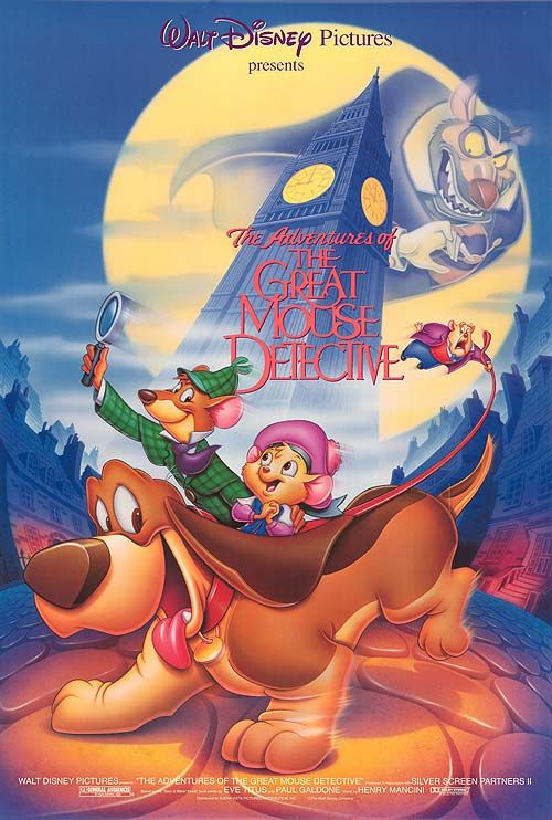 Šaunusis peliukas detektyvas / The Great Mouse Detective (1986) Online