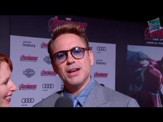 Robert Downey Jr. Talks Iron Man and The Hulk