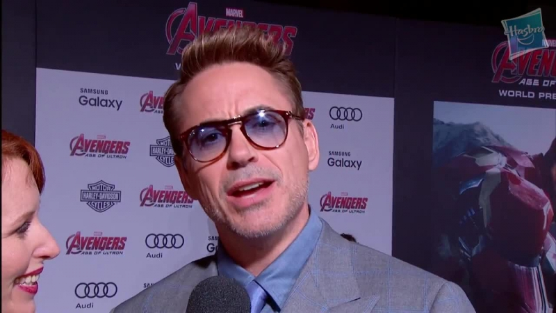 Robert Downey Jr. Talks Iron Man and The Hulk