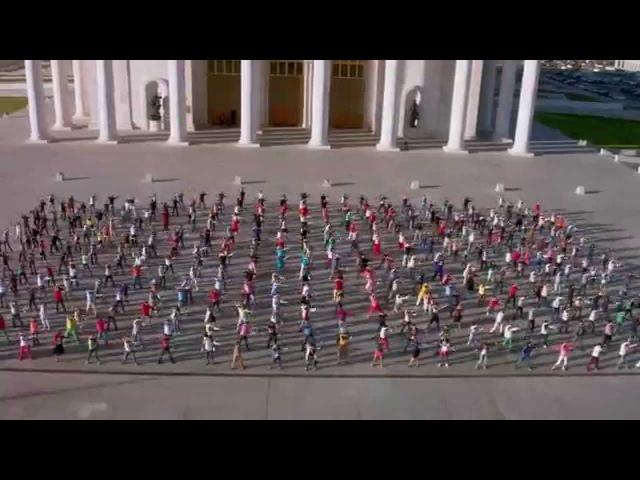 САМЫЙ КРАСОЧНЫЙ ФЛЕШМОБ В АСТАНЕ / The Brightest Flashmob in Astana