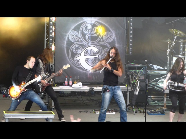 Eluveitie - Thousandfold Live@Metalfest 2014 Loreley 20.06.2014