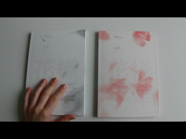 Unboxing BTS (Bangtan Boys) 방탄소년단 3rd Mini Album In the Mood For Love 화양연화 Pt.1 (White Pink Ver.)