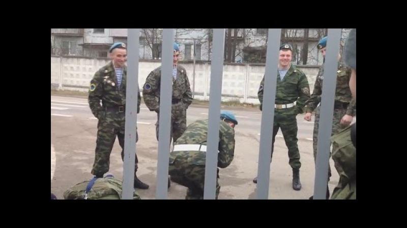 Дембель у десантников Demobilization Russian Airborne Troops (VDV)