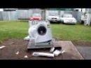 What will happen if you throw a brick in the washing machine