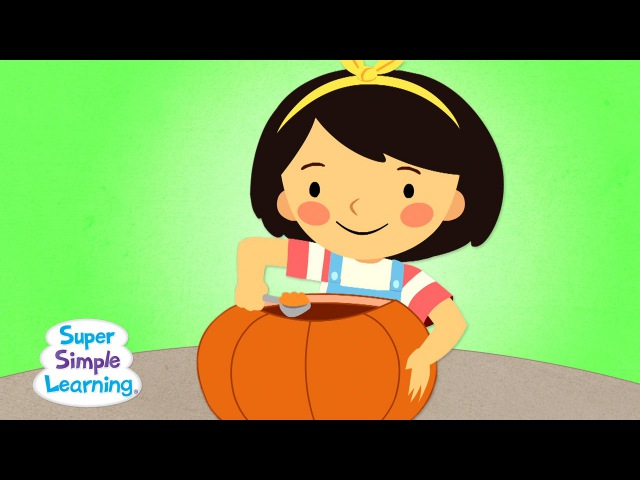 This Is The Way We Carve A Pumpkin   Super Simple Songs