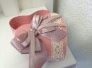 Коробочка в форме сердца Мастер класс Anna Brodbeck Craft