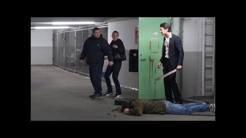 Russian Mafia Scare Prank