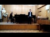 Две народные французкие песни. Чокоев Дольчик 1 класс