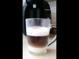 Приготовление кофе в кофемашине Бош Тассимо