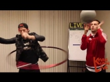 LIVE 105 Office Talent Show With Twenty One Pilots