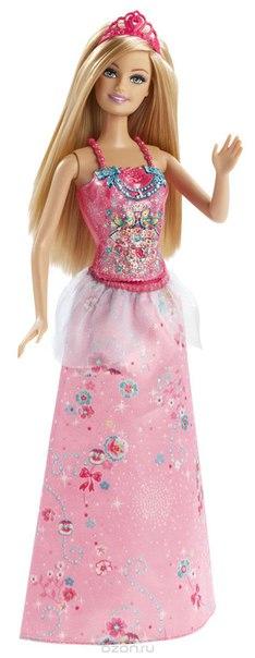 Кукла принцесса мира моды цвет юбки светло-розовый, Barbie