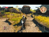 The Witcher 3 PS4 gameplay