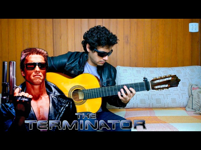 The Terminator theme - Fingerstyle Guitar (Marcos Kaiser) 62