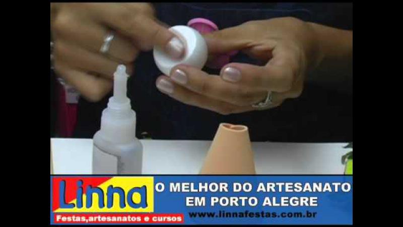 APRENDA FAZER JOANINHA EM E.V.A COM A ARTESÃ KRIKA