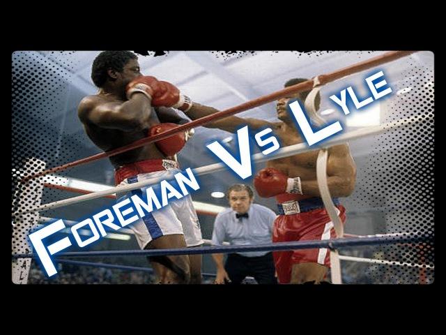 Бокс Джордж Форман Рон Лайл 1976г George Foreman vs Ron Lyle Спорт На Диване
