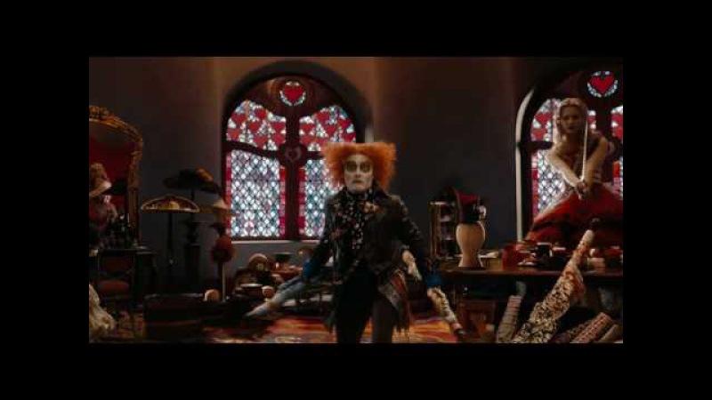 Алиса В Стране Чудес   Alice in Wonderland (2010) Русский трейлер.