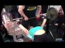 Maryana Naumova 265 lb Bench Press Muscle Fitness