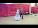 Медленный свадебный танец. Очень красиво
