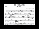Mollenhauer, Edward The Infant (+the Boy) Paganini Fantasia for violin + piano