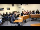 Часть 1. Предвыборные дебаты кандидатов на пост председателя ОСО СПбГТИ(ТУ)