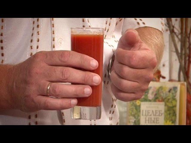 Аритмия? Поможет овощной сок! народные рецепты