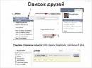 Фишки социальной сети Facebook