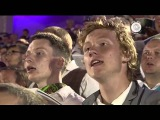 15,000 people sing at a Latvian song and dance festival