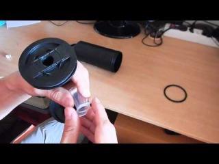 Переделка насоса типа Intex Double Quick 1 (одноходовый, обратный клапан, компрессия)