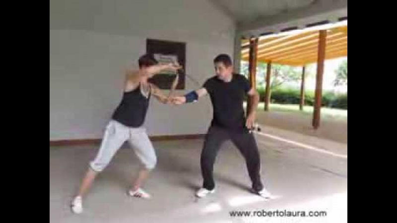 Traditional Italian Knife Fighting - private lesson - part 3