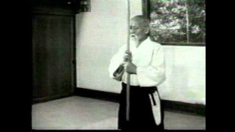 Aikido Movies - Morihei Ueshiba and Aikido - devine techniques.avi