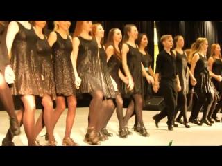 Потрясающие Девушки танцуют Ирландский Танец !!!