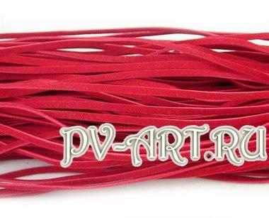 Плетем браслет из замшевого шнурка и цепочки с крупным звеном