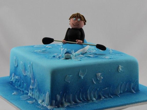 Фото торт байдарка
