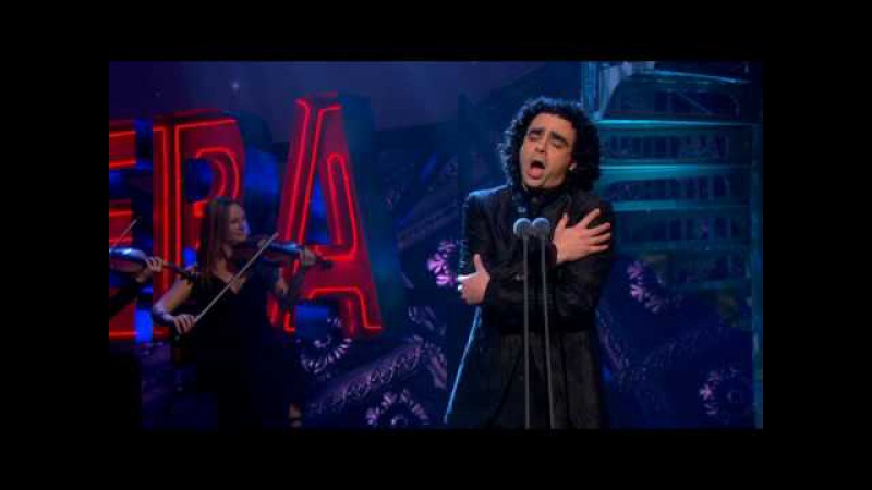 Rolando Villazon performs L'alba separa dalla luce l'ombra on ITV's Popstar to Operastar