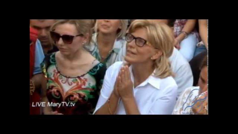 Medjugorje: apparizione a Mirjana del 2 Agosto 2015